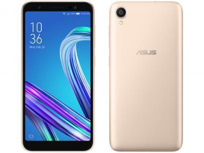 """Smartphone Asus ZenFone Live (L1) 32GB Gold 4G - 2GB RAM 5,5"""" Câm. 13MP + Câm...."""