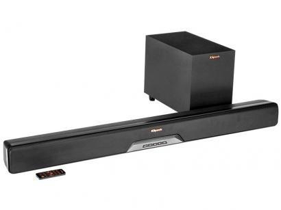 Soundbar Klipsch com Subwoofer Wireless 150W - 2.0 Canais Reference RSB-8