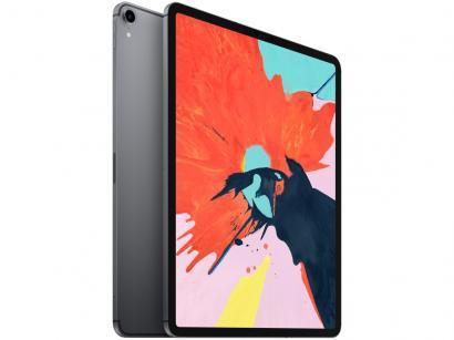 "iPad Pro Apple 4G 512GB Cinza Espacial 12,9"" - Retina Proc. A12X Câm. 12MP +..."