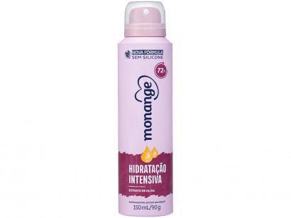 Desodorante Monange Hidratação Intensiva Aerosol - Antitranspirante Feminino 150ml