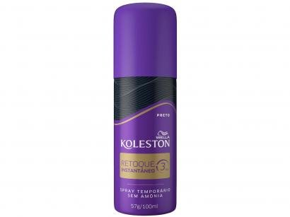 Spray Retoque de Raiz Koleston Preto - 100ml