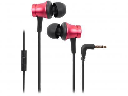 Fone de Ouvido Xiaomi XM274VER Intra-auricular - com Microfone Vermelho