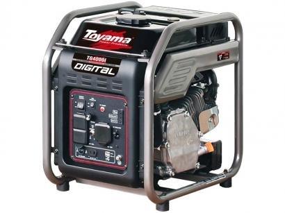 Gerador de Energia a Gasolina Toyama - Monofásico 4T Partida Manual 3,8KVA TG4000IP