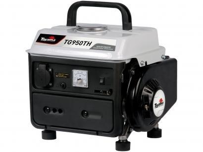 Gerador de Energia a Gasolina Toyama Monofásico - 2T Partida Manual 0,9KVA Home TG950TH