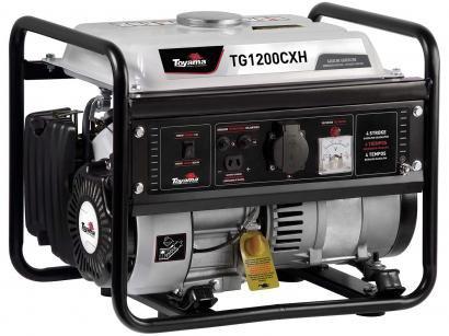 Gerador de Energia a Gasolina Toyama Monofásico - 4T Partida Manual 1,2 KVA TG1200CXH