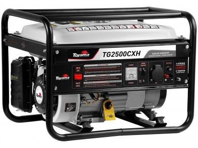 Gerador de Energia a Gasolina Toyama Monofásico - 4T Partida Manual 2,5KVA TG2500CXH