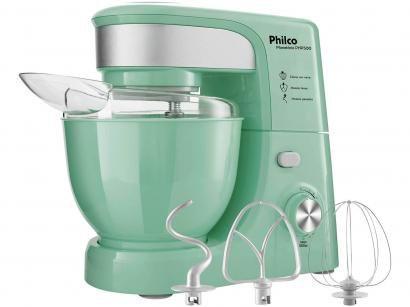Batedeira Planetária Philco Verde 500W - Creative Colors PHP500 Turbo 11...