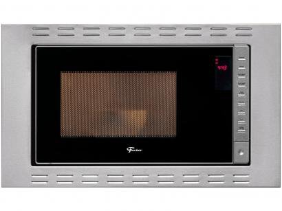 Micro-ondas Inox Fischer 25L de Embutir - Fit Line 25873-56177