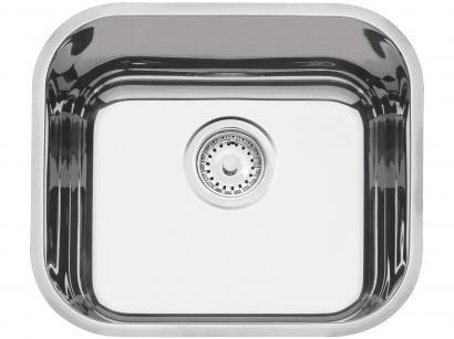 Cuba Simples de Embutir para Cozinha Tramontina - Inox Retangular 43x37cm Prime Lavínia
