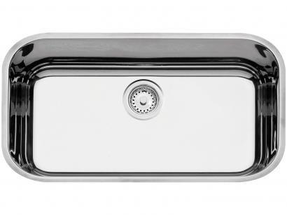 Cuba de Embutir para Cozinha Tramontina Inox - Retangular 56x34cm Perfecta Lavínia
