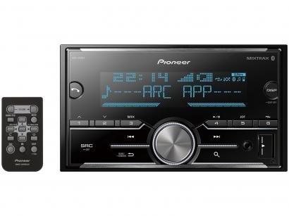 Som Automotivo Pioneer MP3 Player AM/FM - Bluetooth USB Auxiliar MVH-S618BT
