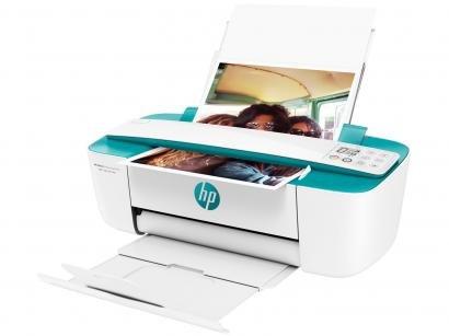Impressora Multifuncional HP DeskJet Ink Advantage - 3786 Jato de Tinta Wi-Fi...