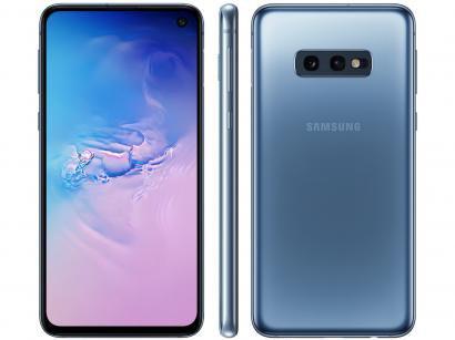 Smartphone Samsung Galaxy S10e 128GB Azul 4G - 6GB RAM Tela 5,8 Câm. Dupla +...