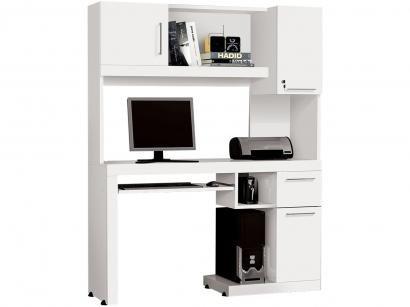 Mesa para Computador 3 Portas 1 Gaveta EDN Móveis - Tradicional Matrix