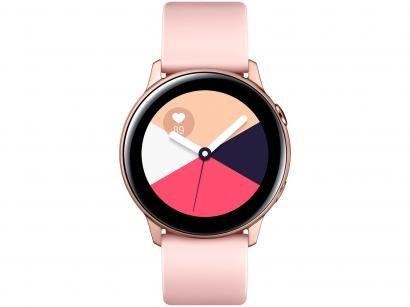 Smartwatch Samsung Watch Active Galaxy - Rosê 4GB