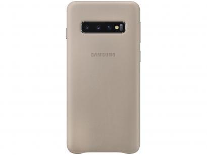 Capinha de Celular Couro para Galaxy S10 - Samsung EF-VG973LJEG