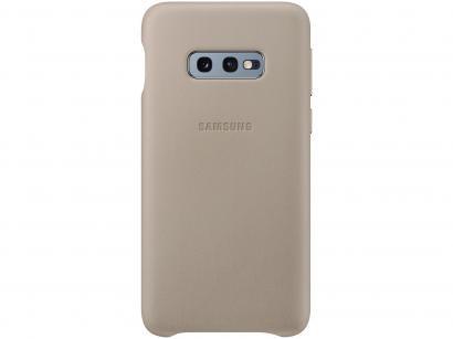 Capinha de Celular Couro para Galaxy S10e - Samsung EF-RG970CLEG