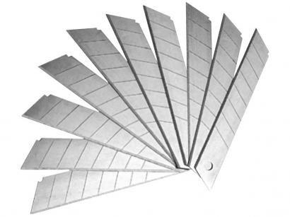 Lâmina para Estilete 18mm Sparta 7896955 - 10 Unidades