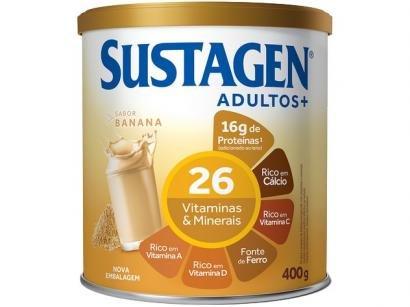 Complemento Alimentar Sustagen Adultos+ - 400g 1 Unidade Banana
