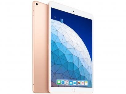 "iPad Air Apple 4G 64GB Dourado 10,5"" Retina - Proc. Chip A12 Câm. 8MP +..."