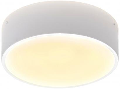 Plafon Redondo Branca 25W 4 Lâmpadas Taschibra - Ring
