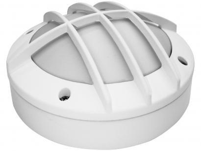 Luminária Tartaruga LED Oval Branco Taschibra - TTL 05
