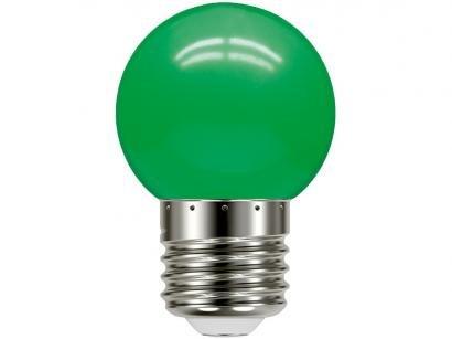 Lâmpada de LED Taschibra Verde - E27 1W