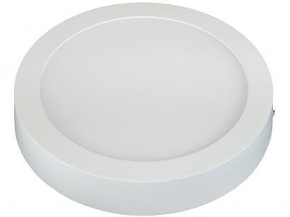 Painel LED Redondo 12W 4000K Taschibra - Single Colors