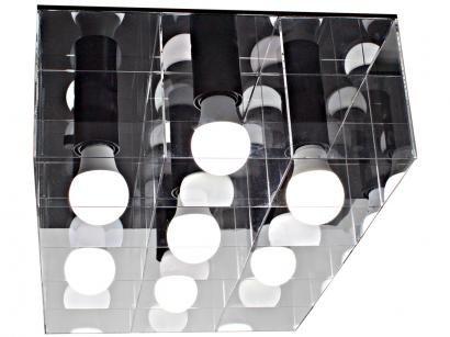 Plafon de Sobrepor 15W Taschibra - Versus Retangular