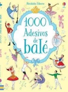 1000 adesivos de balé -