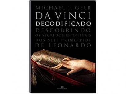 Livro Da Vinci Decodificado - Michael J. Gelb