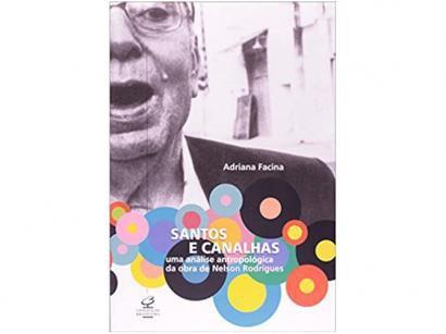 Livro Santos e Canalhas - Adriana Facina