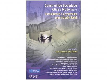 Livro Construindo Sociedade Ativa e Moderna - João Paulo dos Reis Velloso