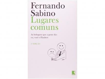 Livro Lugares Comuns - Fernando Sabino