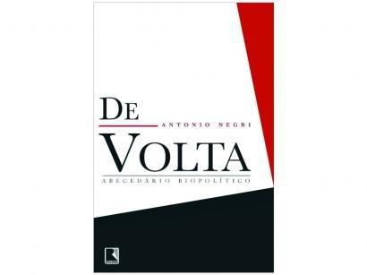 Livro De Volta - Antônio Negri
