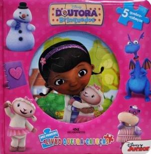 Doutora Brinquedos - Meu Primeiro Livro Quebra-cabeças
