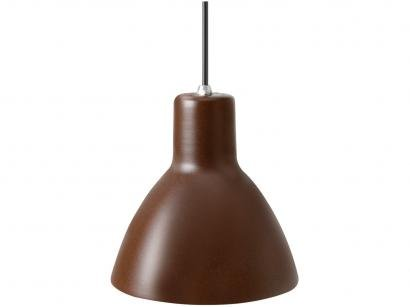 Pendente para Sala Marrom Blend LED - Taschibra Design TD 622