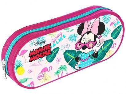 Estojo Escolar Minnie Mouse com Zíper - 2759 DAC