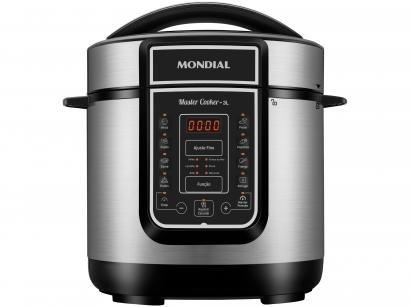 Panela de Pressão Elétrica Digital Mondial - Master Cooker Red PE-40 700W 3L...