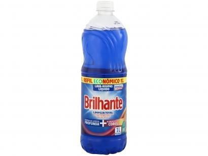 Sabão Líquido Brilhante Brilho Ativo - 1L