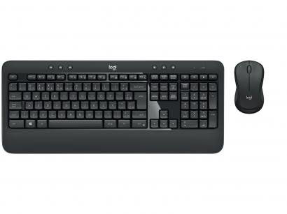 Kit Teclado e Mouse Gamer sem Fio Logitech - MK540 Advanced