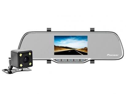 """Retrovisor com Câmera Pioneer Dash Cam VREC-200CH - Tela de 4,7"""""""
