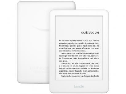 "Kindle 10ª Geração Amazon Tela 6"" 4GB Wi-Fi - Luz Embutida Branco"