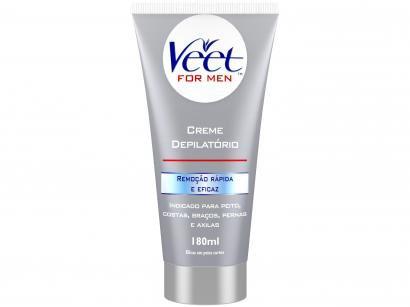 Creme Depilatório Veet For Men Corporal - Masculina 180ml
