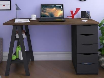 Escrivaninha 5 Gavetas Artany Home Office - Spirit