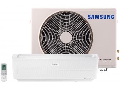 Ar-condicionado Split Samsung Inverter 9.000 BTUs - Quente/Frio Wind Free...