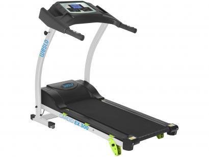 Esteira Ergométrica Elétrica Weslo Fitness - Cardio EX301 Dobrável 9km/h