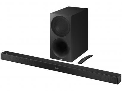 Soundbar Samsung com Subwoofer Wireless 320W - 2.1 Canais HW-M450/ZD USB