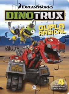 Dinotrux - Dupla radical - Com 4 quebra-cabeças para você se divertir!