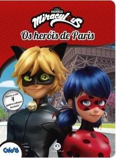 Ladybug - Os heróis de Paris - Divirta-se com 4 quebra-cabeças incríveis!